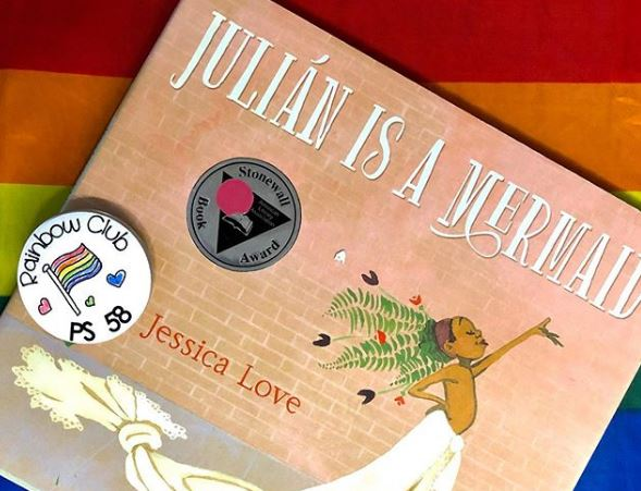 """Julian is a Mermaid"" book cover"